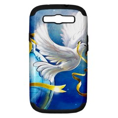 Turtle Doves Christmas Samsung Galaxy S III Hardshell Case (PC+Silicone)