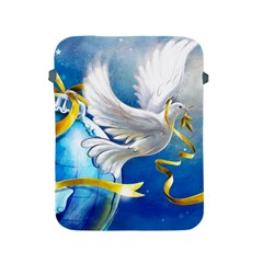 Turtle Doves Christmas Apple iPad 2/3/4 Protective Soft Cases