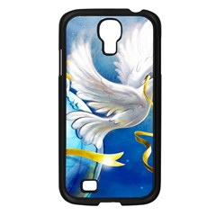Turtle Doves Christmas Samsung Galaxy S4 I9500/ I9505 Case (Black)