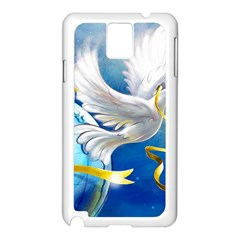 Turtle Doves Christmas Samsung Galaxy Note 3 N9005 Case (White)