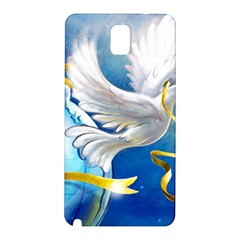 Turtle Doves Christmas Samsung Galaxy Note 3 N9005 Hardshell Back Case