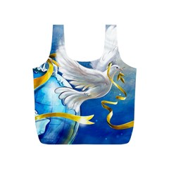 Turtle Doves Christmas Full Print Recycle Bags (S)