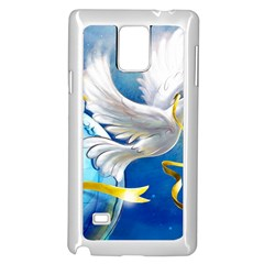 Turtle Doves Christmas Samsung Galaxy Note 4 Case (White)