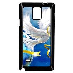 Turtle Doves Christmas Samsung Galaxy Note 4 Case (Black)