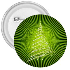 Vector Chirstmas Tree Design 3  Buttons