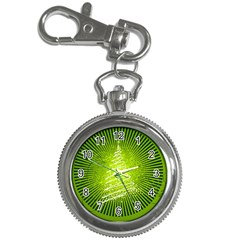 Vector Chirstmas Tree Design Key Chain Watches