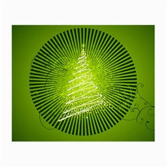 Vector Chirstmas Tree Design Small Glasses Cloth (2-Side)