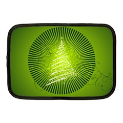 Vector Chirstmas Tree Design Netbook Case (Medium)