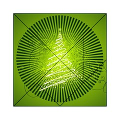 Vector Chirstmas Tree Design Acrylic Tangram Puzzle (6  x 6 )