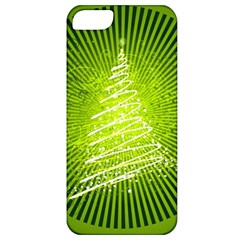 Vector Chirstmas Tree Design Apple iPhone 5 Classic Hardshell Case
