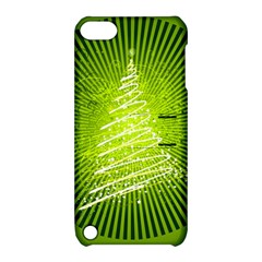 Vector Chirstmas Tree Design Apple iPod Touch 5 Hardshell Case with Stand