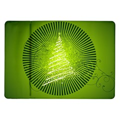 Vector Chirstmas Tree Design Samsung Galaxy Tab 10.1  P7500 Flip Case