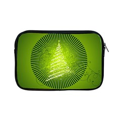 Vector Chirstmas Tree Design Apple iPad Mini Zipper Cases