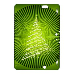 Vector Chirstmas Tree Design Kindle Fire HDX 8.9  Hardshell Case