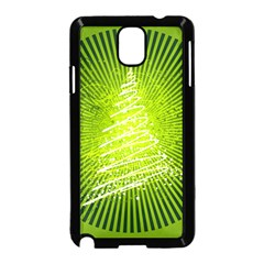 Vector Chirstmas Tree Design Samsung Galaxy Note 3 Neo Hardshell Case (Black)