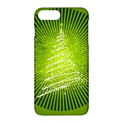 Vector Chirstmas Tree Design Apple iPhone 7 Plus Hardshell Case