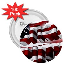 Usa America Trump Donald 2.25  Buttons (100 pack)
