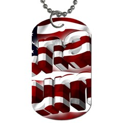 Usa America Trump Donald Dog Tag (Two Sides)
