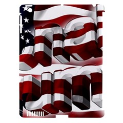 Usa America Trump Donald Apple iPad 3/4 Hardshell Case (Compatible with Smart Cover)