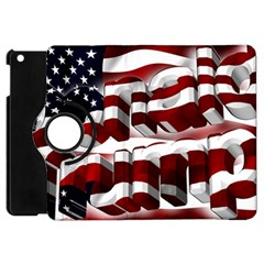 Usa America Trump Donald Apple iPad Mini Flip 360 Case