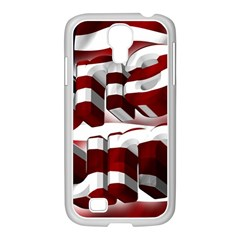 Usa America Trump Donald Samsung GALAXY S4 I9500/ I9505 Case (White)