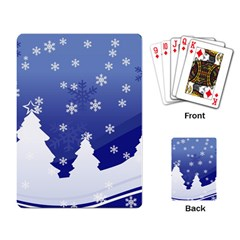 Vector Christmas Design Playing Card