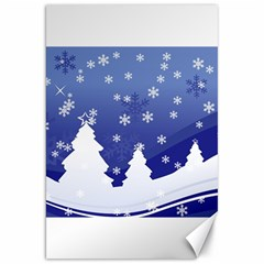 Vector Christmas Design Canvas 20  x 30