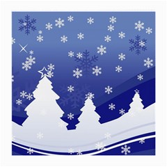 Vector Christmas Design Medium Glasses Cloth (2-Side)