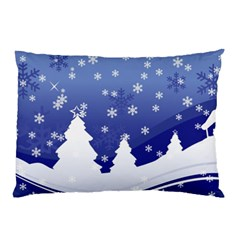 Vector Christmas Design Pillow Case (Two Sides)