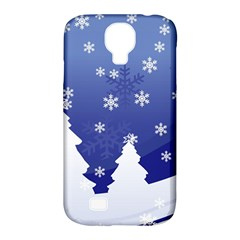 Vector Christmas Design Samsung Galaxy S4 Classic Hardshell Case (PC+Silicone)