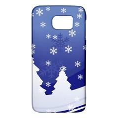 Vector Christmas Design Galaxy S6