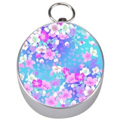 colorful pastel flowers Silver Compasses