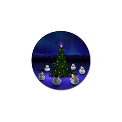 Waiting For The Xmas Christmas Golf Ball Marker (10 pack)
