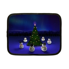 Waiting For The Xmas Christmas Netbook Case (Small)