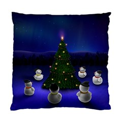 Waiting For The Xmas Christmas Standard Cushion Case (One Side)