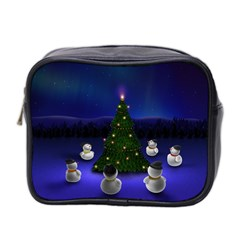 Waiting For The Xmas Christmas Mini Toiletries Bag 2-Side