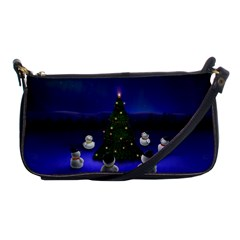 Waiting For The Xmas Christmas Shoulder Clutch Bags