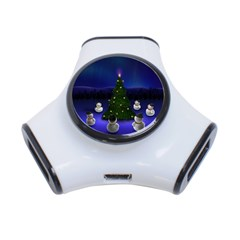 Waiting For The Xmas Christmas 3-Port USB Hub