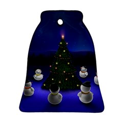 Waiting For The Xmas Christmas Bell Ornament (2 Sides)