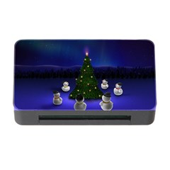 Waiting For The Xmas Christmas Memory Card Reader with CF