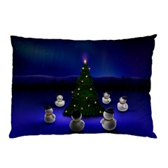 Waiting For The Xmas Christmas Pillow Case (Two Sides)