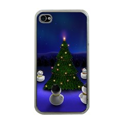 Waiting For The Xmas Christmas Apple iPhone 4 Case (Clear)