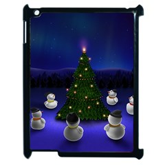 Waiting For The Xmas Christmas Apple iPad 2 Case (Black)