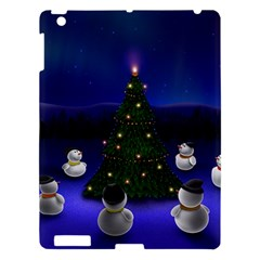 Waiting For The Xmas Christmas Apple iPad 3/4 Hardshell Case