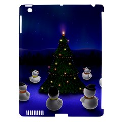 Waiting For The Xmas Christmas Apple iPad 3/4 Hardshell Case (Compatible with Smart Cover)
