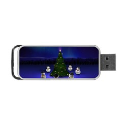 Waiting For The Xmas Christmas Portable USB Flash (Two Sides)