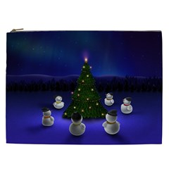 Waiting For The Xmas Christmas Cosmetic Bag (XXL)