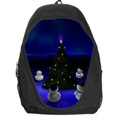 Waiting For The Xmas Christmas Backpack Bag