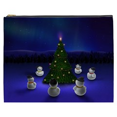 Waiting For The Xmas Christmas Cosmetic Bag (XXXL)