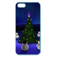 Waiting For The Xmas Christmas Apple Seamless iPhone 5 Case (Color)